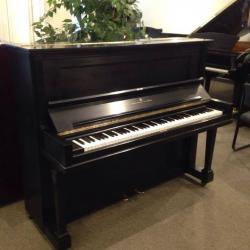 Steinway V Upright Piano - Ebony Satin