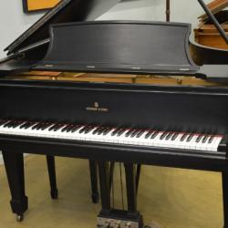 "Steinway model A 6'4"" grand piano"