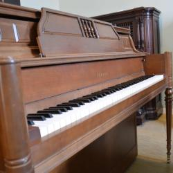 Upright pianos wells pianos for Yamaha console piano prices