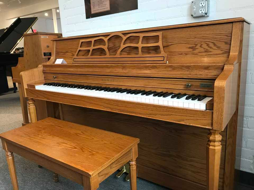 Kawai console classic look model 503m wells pianos - Yamaha console piano models ...