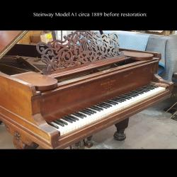 Steinway Model A Before Restoration