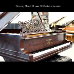 Steinway Model A After Restoration