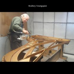 Rodney Youngquist - Finishing Steinway Plate