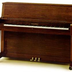 Charles Walter Studio Piano Walnut