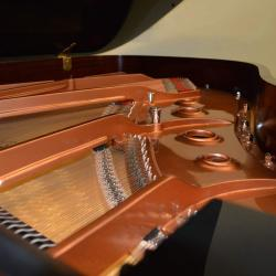 New Brodmann grand piano model PE 187-soudboard