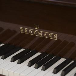 walnut finish Brodmann grand piano