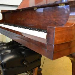 Charles Walter grand piano in excellent condition -front
