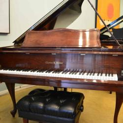 Charles Walter grand piano in excellent condition
