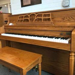 Kawai 503M oak from right