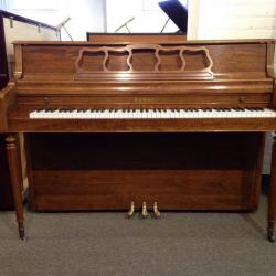 "Kawai 48"" Console Piano - Oak w/ Walnut Finish"