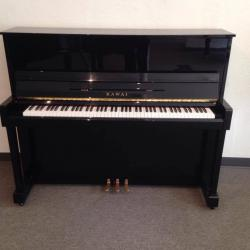 Kawai Ebony Polish Studio Upright Piano