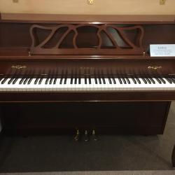 Used Kawai Model 505F French Provincial Cherry Console Front View