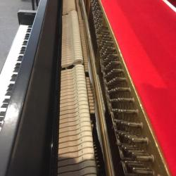 Used Kawai model CX-21D studio piano's hammers