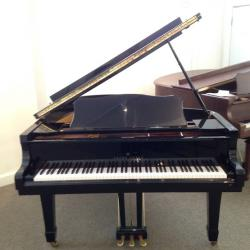 "Young Chang G-175 5'9"" Ebony Polish Grand Piano"
