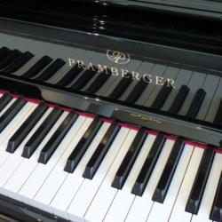 "Pramberger model 131 studio piano 52"" with Renner action"