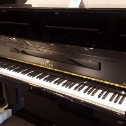 Seiler 126 Studio Piano Ebony