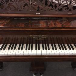 Steinway Style 2 Rosewood 7' Grand Piano Fallboard