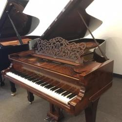 Steinway Style 2 Rosewood 7' Grand Piano Front Right