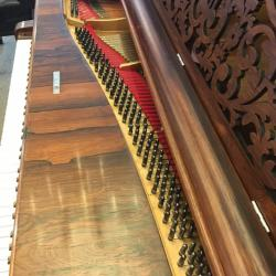Steinway Style 2 Rosewood 7' Grand Piano Pinblock
