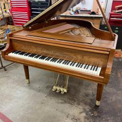 "Steinway Model M Teague Sketch 1111 ""Modern Centennial"" Grand Piano main 2"
