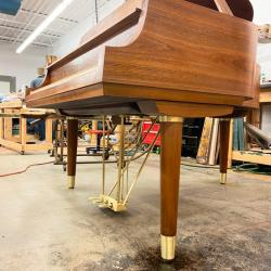 "Steinway Model M Teague Sketch 1111 ""Modern Centennial"" Grand Piano side 2"