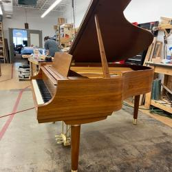 "Steinway Model M Teague Sketch 1111 ""Modern Centennial"" Grand Piano side"