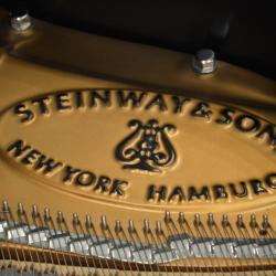 Steinway L lettering