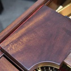 Steinway M in Mahogany - Music Desk Right
