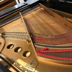 Steinway M from back