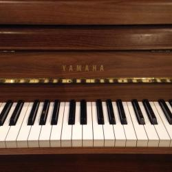 Yamaha Continental Style Upright Piano Keys