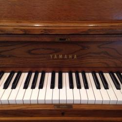 Yamaha P-202 Walnut Studio Piano Keys