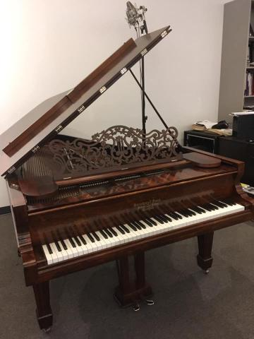 Steinway Style 2 Rosewood 7' Grand Piano Front Left