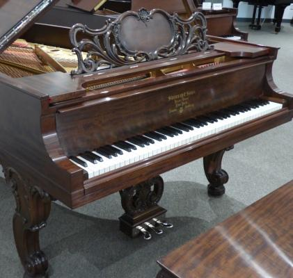 Steinway B Art Case French  Walnut