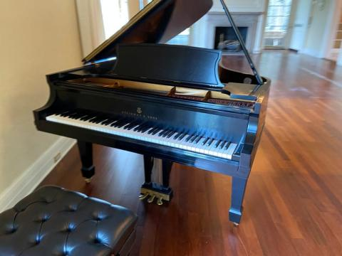Steinway Model B Front