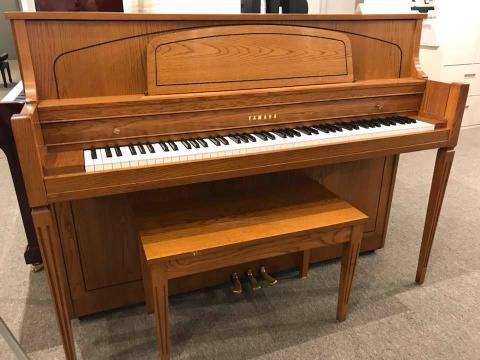 Yamaha studio console piano - excellent condition